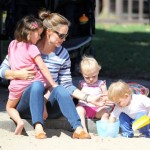 Jennifer Garner Enjoys Family Park Day