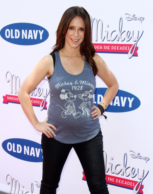 Jennifer Love Hewitt at the Old Navy Mickey Through the Decades Launch in Burbank