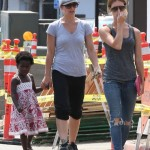 Jillian Michaels Enjoys a Farmers Market Day With Family