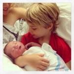 Kevin Richardson Debuts Newborn Son Maxwell Haze
