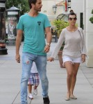 Scott Disick & Kourtney Kardashian Take Mason To The Movies