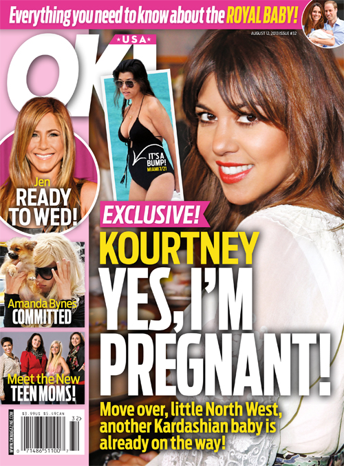 Is Kourtney Kardashian Pregnant?