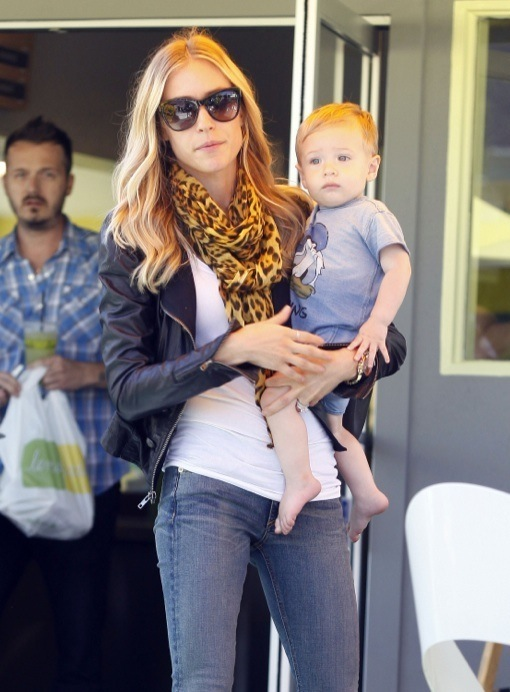 Kristin Cavallari Out And About With Her Son