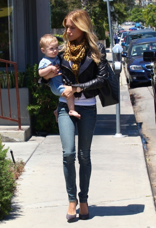 Semi-Exclusive... Kristin Cavallari Out And About With Her Son
