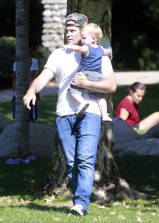 Mike Comrie & Luca: Father-Son Bonding Day