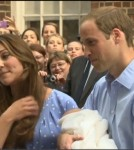 Prince William and Kate Middleton Debut Newborn Son
