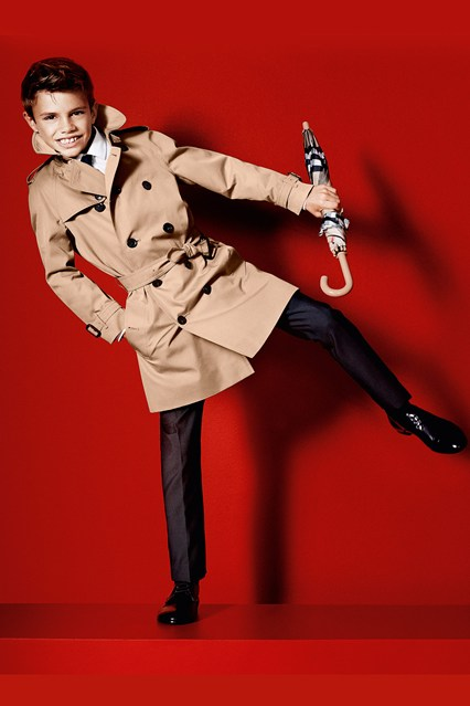 Romeo Beckham Helped Burberry's 13% Increase In Sales
