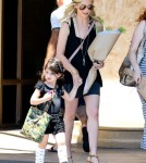 Exclusive... Sarah Michelle Gellar Takes Her Daughter To Ballet Class