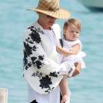 Uma Thurman Enjoys Saint Tropez Vacation With Luna