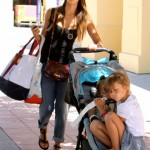 Jessica Alba Target Shops With Her Girls