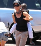 Jillian Michaels Takes Daughter Lukensia To The Park