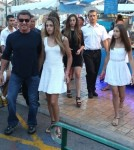 Sylvester Stallone & Family On Vacation In France