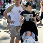 Anna Faris & Chris Pratt Celebrate Jack's Birthday at the Farmer's Market