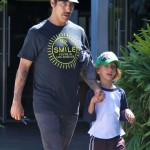 Anthony Kiedis: Tuesday Art Class With Everly