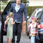 Ben Affleck Does The Summer School Run