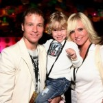 Brian Littrell's Son Baylee Performs OnStage at Backstreet Boys Concert