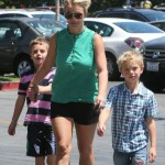 Britney Spears Spoils Her Boys at Toys R Us