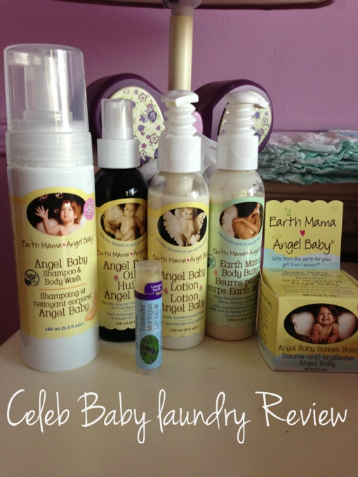 Review: Earth Mama Angel Baby Organics