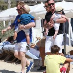 Elton John & David Furnish: Saint Tropez Family Vacation