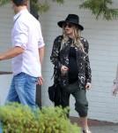 Pregnant Fergie & Josh Duhamel Attending Church In Brentwood