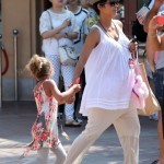 Halle Berry Bumps To Universal Studios With Nahla