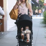 Hilary Duff: Family Breakfast Day