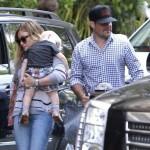 Hilary Duff Enjoys Sunday Family Day
