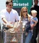 Hilary Duff And Her Family Stock Up On Groceries