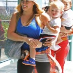 Hilary Duff Takes Her Budding Basketball Fan to Fit For Kids Workout