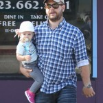 Jack Osbourne: Errand Run With His Baby Girl