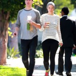 Jaime King: Blossoming Breakfast Bump