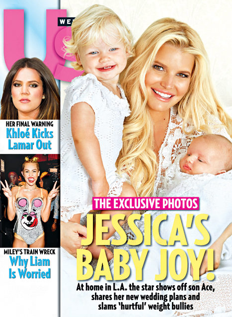 Jessica Simpson US Weekly With ACE