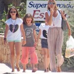 Kate Moss Vacations In Formentera With Daughter Lila