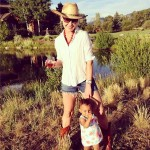 Katherine Heigl Enjoys The Country Life With Daughter Adalaide