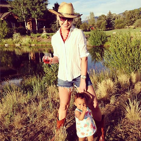 Katherine Heigl and Adalaide