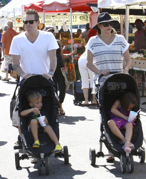 Mark McGrath: Family Bonding at the Farmers Market