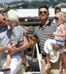 Neil & David Vacation In Saint-Tropez With David Furnish