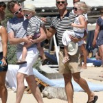 Neil Patrick Harris & David Burtka Vacation In Saint Tropez With Their Twins