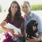 First Family Photo: Prince William & Kate Middleton With Newborn Son Prince George