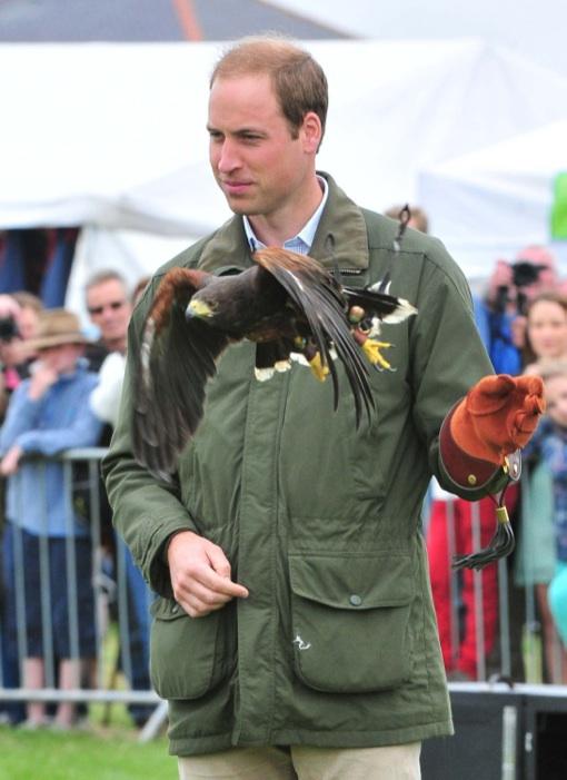 Prince William: George Is Pretty Loud & Very Good Looking!