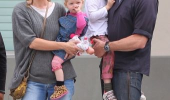 Rebecca Gayheart & Eric Dane: Lunch Date With Their Girls