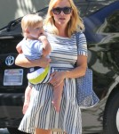 Reese Witherspoon & Son Tennessee Leaving A Party