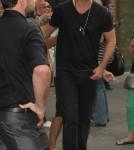 Robin Thicke & Paul Patton Out And About In NYC
