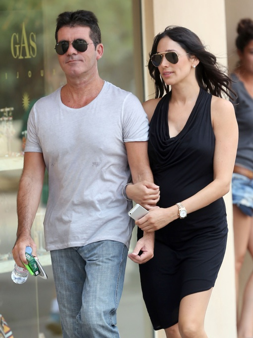 51189260 Simon Cowell And Lauren Silverman Continue To Put Their Love On Display Holding Hands While Strolling Along The City Streets Of St Tropez On
