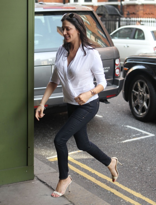Simon Cowell & Lauren Silverman: Romantic Parents-to-Be Lunch