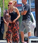 Semi-Exclusive... Pregnant Teresa Palmer Lunches With Her Fiance And Mom