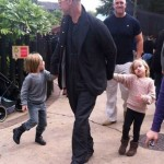 Brad Pitt Takes Vivienne & Knox to Lego Land