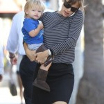 Jennifer Garner: Breakfast With Seraphina & Samuel