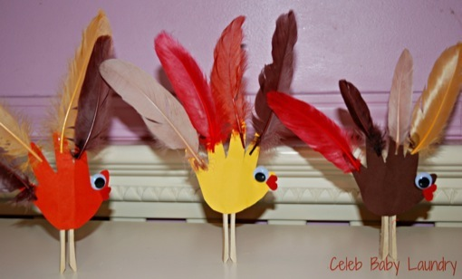 Thanksgiving: Giving Thanks While Taking Part In a Toddler Friendly Craft