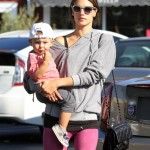 Alessandra Ambrosio: Breakfast Date With Noah
